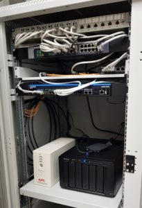 Datenschrank mit Netzwerkspeicher