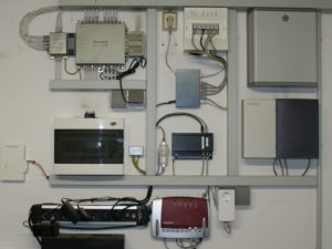 EDV Zentrale in einem Privathaus